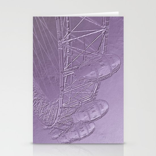 Embossed London Eye Stationery Cards