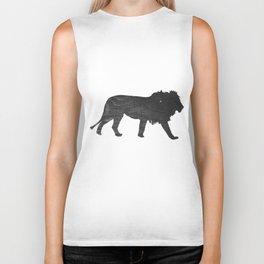 Lion (The Living Things Series) Biker Tank
