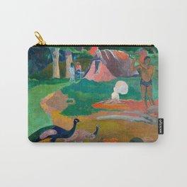 Paul Gauguin - Landscape with Peacocks - Matamua - Matamoe - Le Paysage avec des Paons Carry-All Pouch