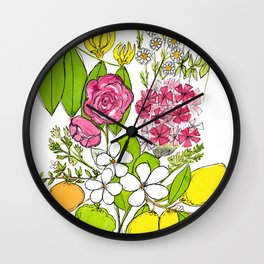 Joy Blend Wall Clock