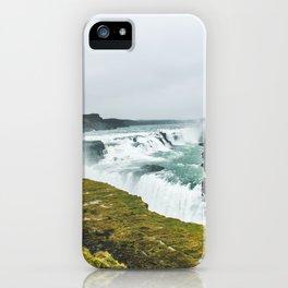 Gigantic Gullfoss iPhone Case