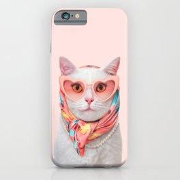 FASHION CAT iPhone Case