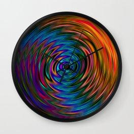 Vibrational Wall Clock