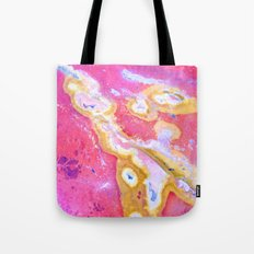 Rust Paint Formation Tote Bag