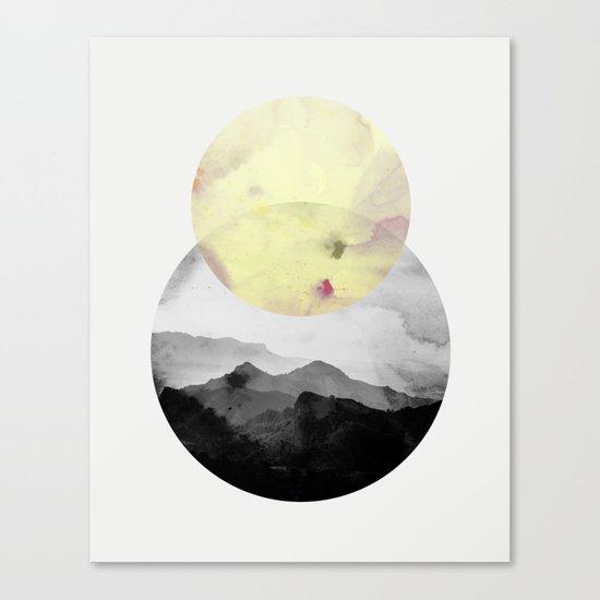 landscape montain nature Canvas Print