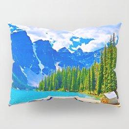 Lake in switzerland Pillow Sham