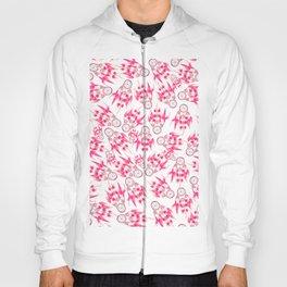 Hipster pink vintage dreamcatcher pattern  Hoody