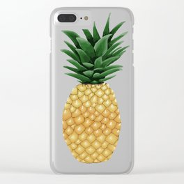 Just Sweet Ol' Me - Pineapple Clear iPhone Case