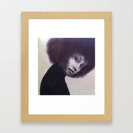 afro 1 Framed Art Print