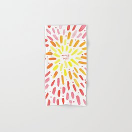 Merry and Bright Christmas Party Hand & Bath Towel
