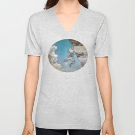 Climb On II Unisex V-Neck