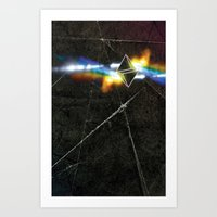 prism Art Prints featuring prism by Halo Jones