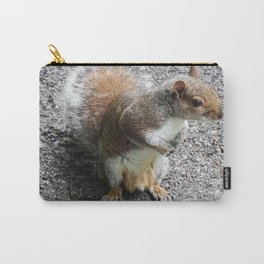 Grey Squirrel Carry-All Pouch