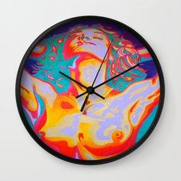The Art of Orgasm  Wall Clock