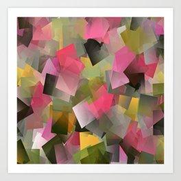 Pastel Garden..... Art Print