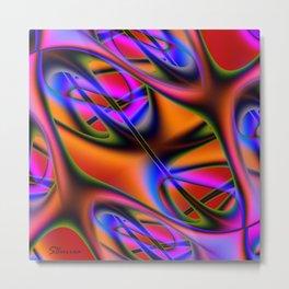Capillary Metal Print
