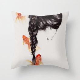 Hair Sequel III Throw Pillow