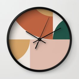 Abstract Geometric 13 Wall Clock