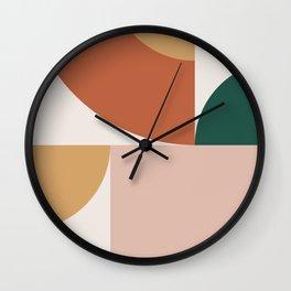 Abstract Geometric 13 Wall Clock