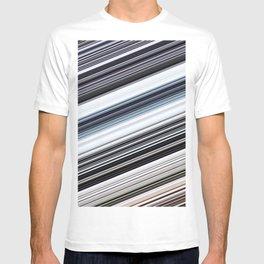silver stripes T-shirt