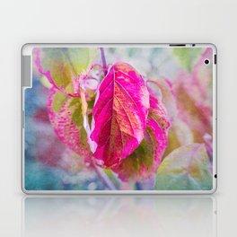 PINK LEAF Laptop & iPad Skin