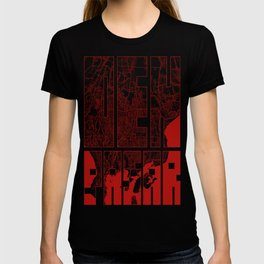 Denpasar City Map of Indonesia - Oriental T-shirt