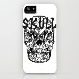 Skull - Día de Muertos / Day of the Dead iPhone Case