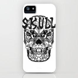 Skull - Día de Muertos / Day of the Dead iPhone Case