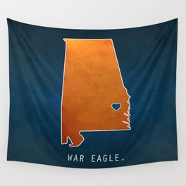 War Eagle Wall Tapestry