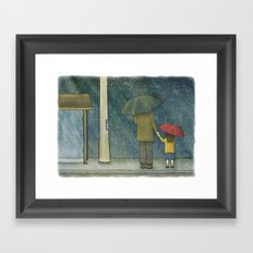 Daughter Rain Framed Art Print