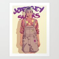 90s Art Prints featuring 80/90s - A. by Mike Wrobel