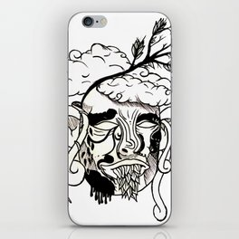 Whacky Face iPhone Skin
