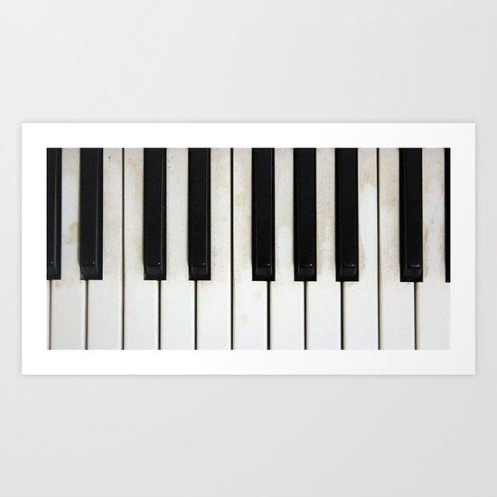 Lost melodies Art Print