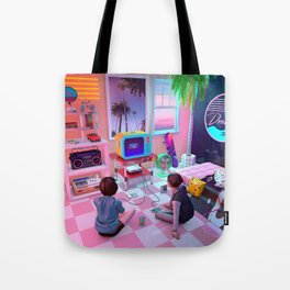 Press Start Tote Bag