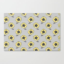 papaya pattern Canvas Print