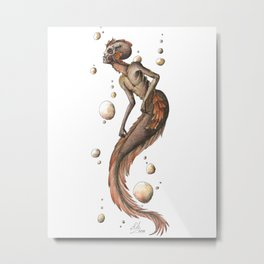 Mermaid 7 Metal Print