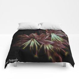 Electric Floral  Comforters