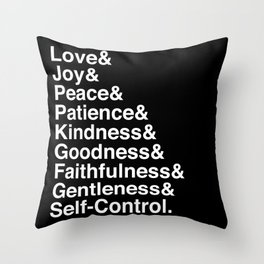 GALATIANS 5:22-23 Throw Pillow
