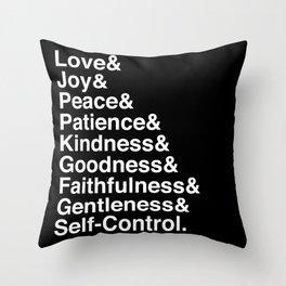 GALATIANS 5:22-23 Throw Pillow