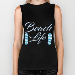 Beach Life Biker Tank