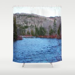 River in Nature Shower Curtain
