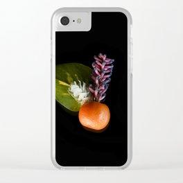 Mandarin Clear iPhone Case