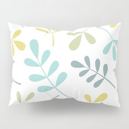 Assorted Leaf Silhouettes Color Mix Pillow Sham