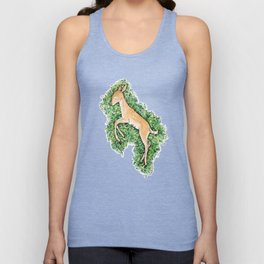 Resting Place - Fawn Unisex Tank Top
