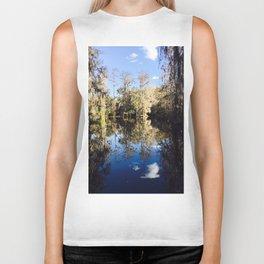 Mirror Swamp Charleston Plantation Biker Tank