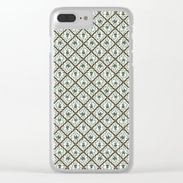 Batik Sido Luhur - Authentic Traditional Pattern Clear iPhone Case