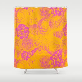 Florals Inversion Shower Curtain