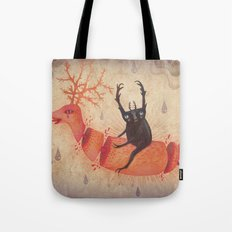 And when the heavens opened Tote Bag