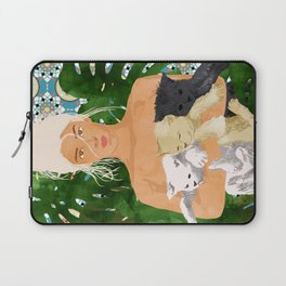 Morocco Vacay #illustration #painting Laptop Sleeve