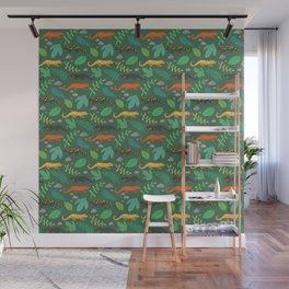 Salamanders Wall Mural